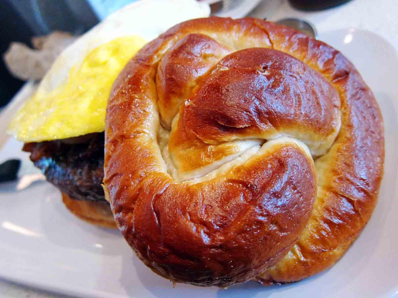 Pretzel Bun Burger | Some of my Best Friends are Food